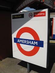 Amersham Station by Redvers