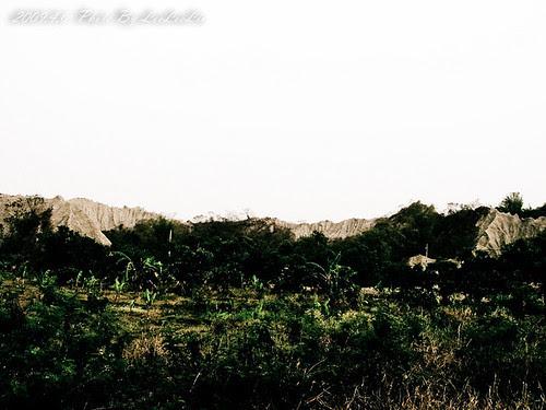 燕巢月世界|惡地地形|高雄燕巢景點