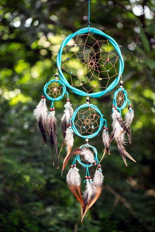 DIY Beautiful and Unique Dream Catcher Ideas (32)