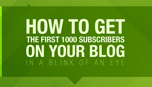 15 Clever Tactics to Get Your First 1000 Blog Subscribers Extremely Quickly
