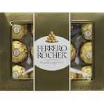 Ferrero Rocher Fine Hazelnut Chocolate, 5.3 Ounce