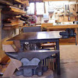 On Turning Your Garage Into a Blacksmithing & Woodworking Shop