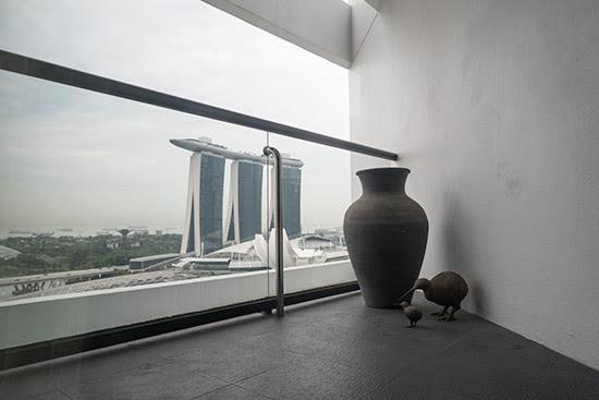 Ocean Grand Room Mandarin Oriental Singapore Balcony