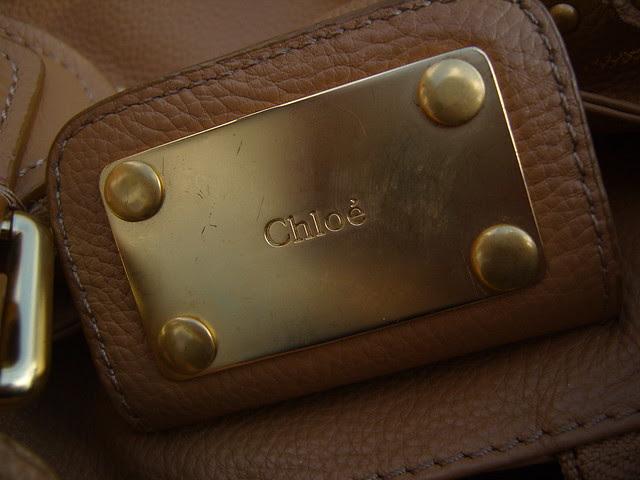 Chloe Paddington Bag Detail