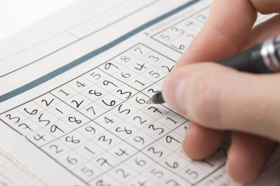 Many cerebral puzzles, such as Sudoku, involve pattern recognition.
