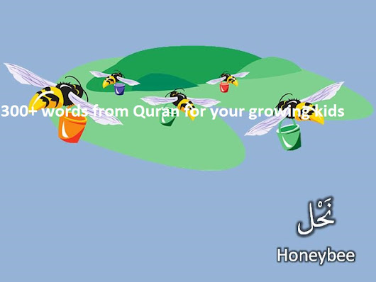 """300+ words from Quran for your growing kids"" – an eBook"