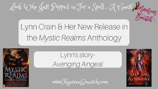 Please Welcome My Guest & Her New Release Avenging Aingeal - Author Maureen L. Bonatch