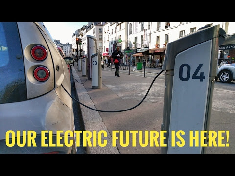 Our electric car future starts here!