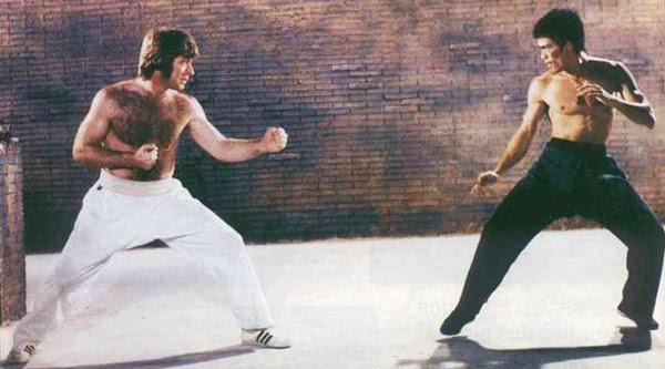 Bruce Lee and Chuck Norris fight in this iconic example of screen fighting. Learn fight choreography and how to film fight scenes by reading this article.