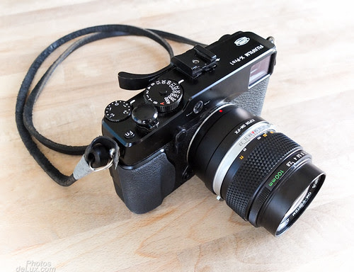 Fuji X-Pro 1 with Kipon OM-XF adapter and Olympus OM 100mm f/2.8 Zuiko lens