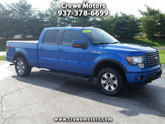 Used 2011 Ford F150 for Sale in Georgetown OH 45121 Crowe Motors
