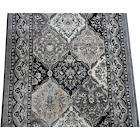 Dean Panel Kerman Gray 31 inchw Carpet Rug Hallway Runner - Purchase by The Linear Foot