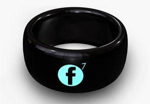 Smart Ring da MOTA mostra notificações de redes sociais ao usuário (Foto: Divulgação/MOTA)