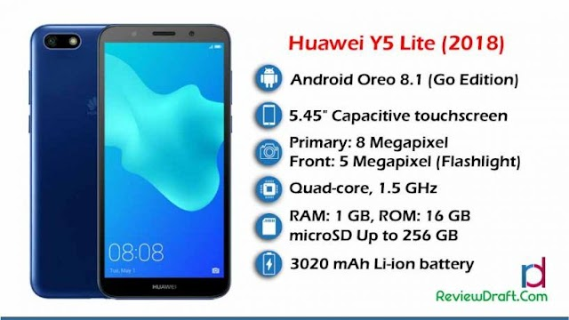 Huawei Y5 Lite (2018) Price in Bangladesh, Full Specification