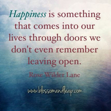 Charming Life Pattern Rose Wilder Lane Quote Happiness Is