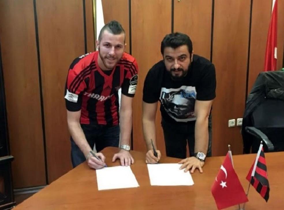 Paulo Victor ficou apenas seis meses no Gaziantepspor (Foto: Reprodução )