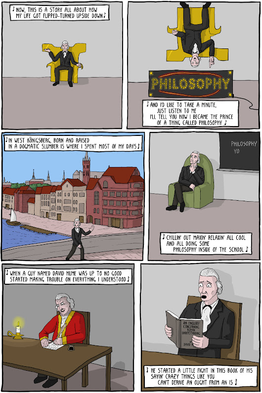 Immanuel Kant: Fresh Prince of Philosophy - Existential Comics