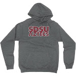 Official NCAA SDSU Aztecs - C67AM05, G.A.18500, DRK_HTR, 3XL Size 3X-Large Dark Heather Grey