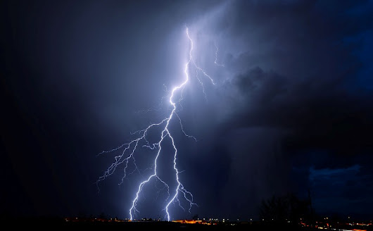 Lightning Struck Late at Night - Spiritual Climate