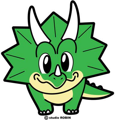 恐竜din 009 Studio Robinフリー素材 イラスト販売 キャラクター