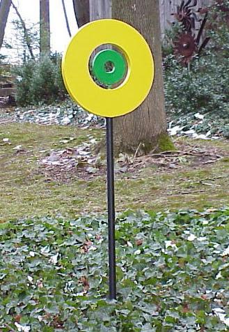 Circles - Abstract sculptures and artwork as home decor and garden decor