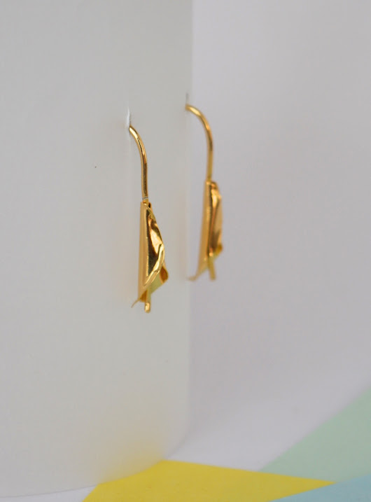 Earrings-Calla lily-Unakita