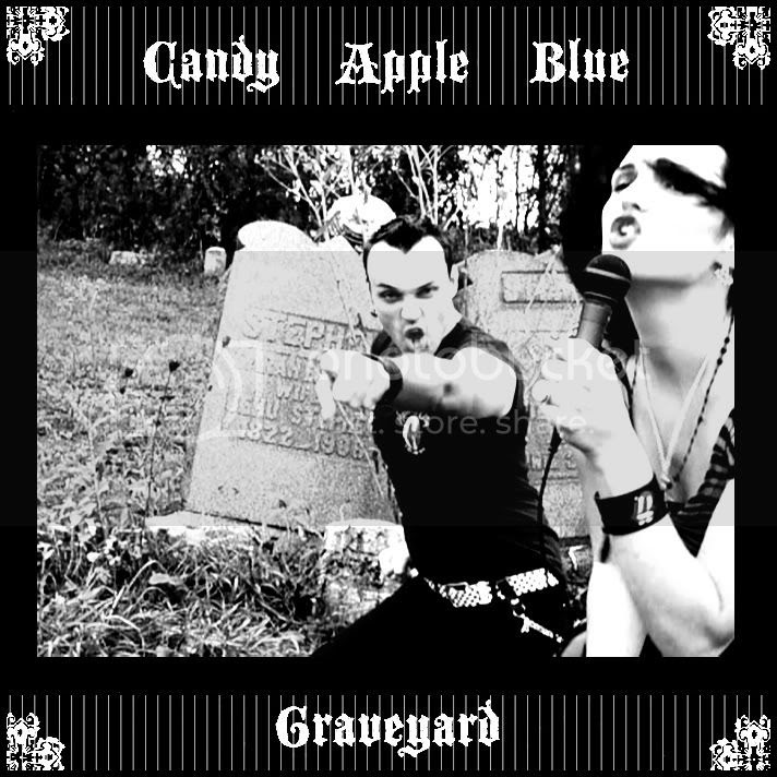 Candy Apple Blue Graveyard