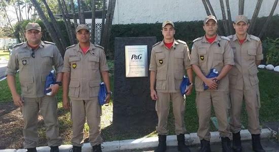 Corpo de Bombeiros realiza visita técnica na empresa P&G