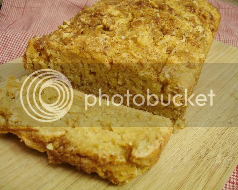 sweet potato streusel bread