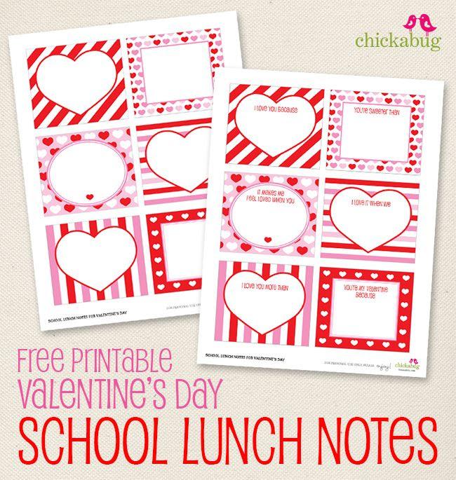 FREE printable Valentine