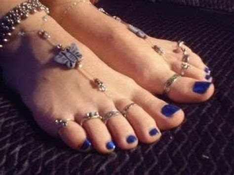Latest Toe Rings Designs    Toe rings for Bride    Toe