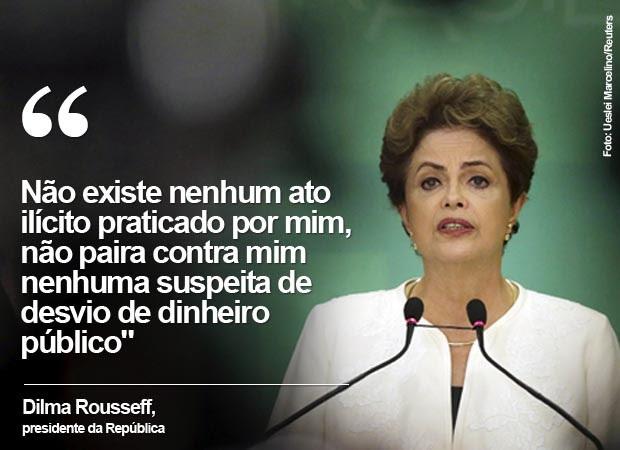 Dilma Rousseff responde que está indignada