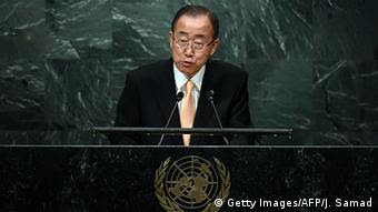 UN-Generalsekretär Ban Ki Moon (Foto: Getty Images)