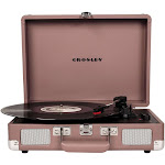Crosley - Cruiser Deluxe Bluetooth Stereo Turntable - Purple Ash