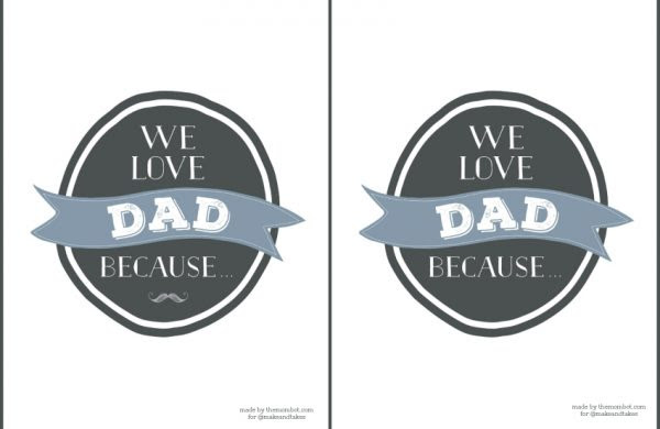 Personalised Reasons Why We Love Daddy Framed Print By Sophia