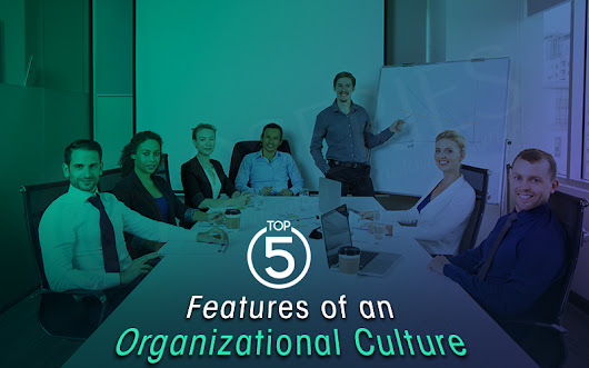 Top 5 Features of an Organizational Culture