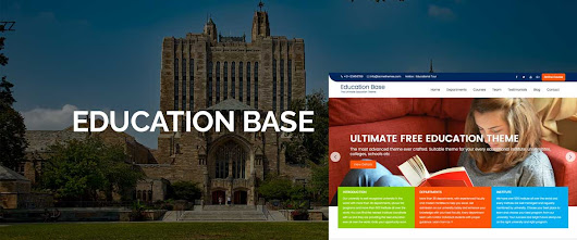 Education Base: Multipurpose Free Education WordPress Theme