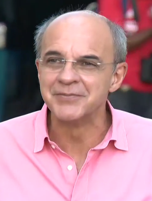 Eduardo Bandeira de Mello, presidente do Flamengo (Foto: Reprodução SporTV)