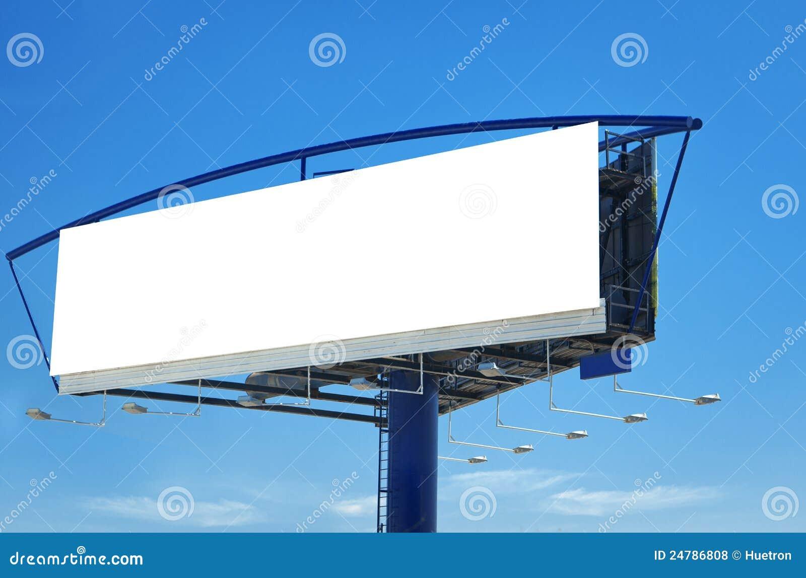 Blank Billboard Template Royalty Free Stock Photos - Image: 24786808