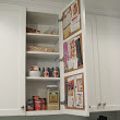 Create A Hidden In Cabinet Cork Board Message Center- It's An Easy DIY Project That Anyone Can Do
