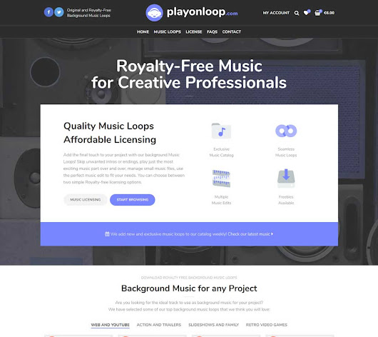 PlayOnLoop - Royalty-free Music Loops for Creative Professionals