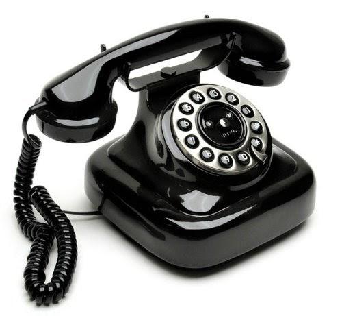 Sitel 40050t retro 39 telephone telefono fisso design vintage retro nero lucido telefoni - Telefono fisso design ...