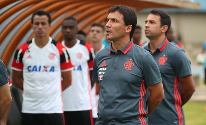 Zé Ricardo Vila Nova Flamengo (Foto: Gilvan de Souza /Flamengo)