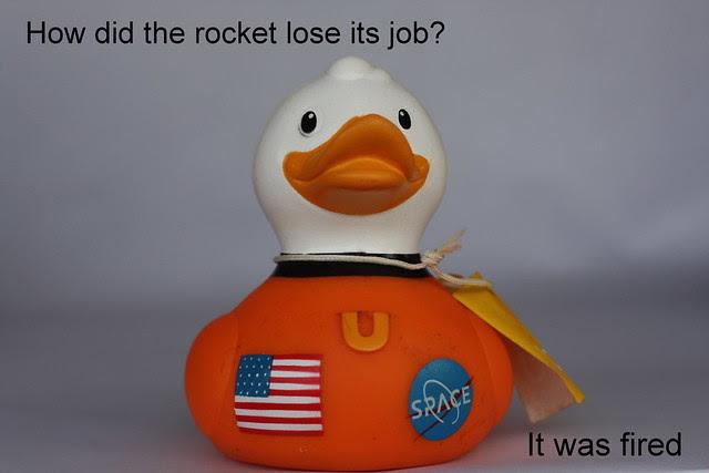 joke book - Space Duck
