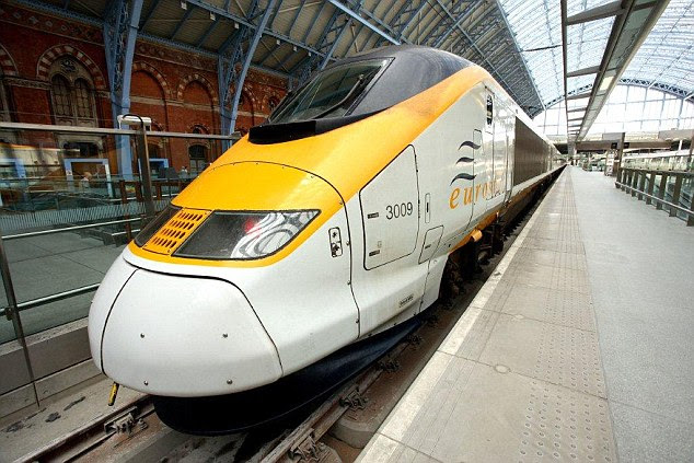 A Eurostar train was delayed by more than five hours after a passenger set the fire alarm off after smoking an e-cigarette in the toilet