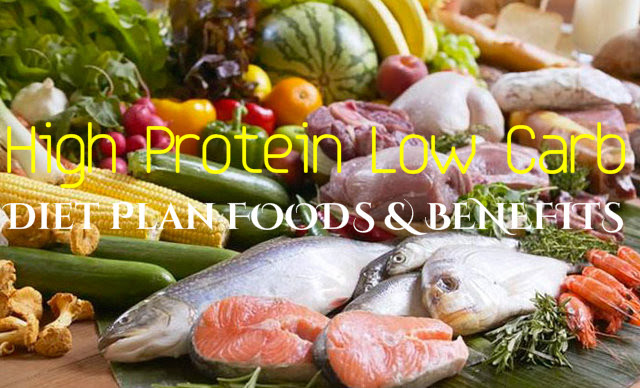 High Protein Low Carb Diet Plan Foods and Benefits ...