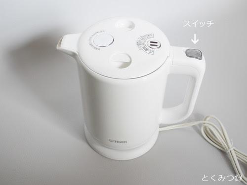 タイガー 電気ケトル PFV-G100