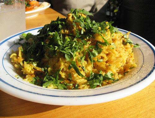 Indian Fusion Food at Cowboys and Turbans at El Rey Theater