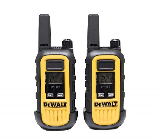 DeWALT Heavy Duty Walkie-Talkies