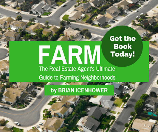 Real Estate Farming Book - Brian Icenhower - Geographic Farm